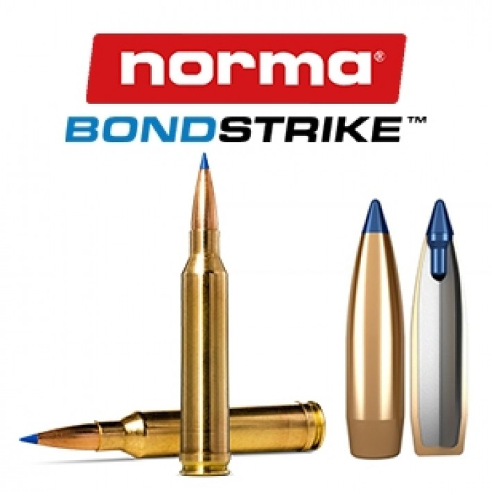 Cartuchos Norma Bondstrike Extreme 6.5 Creedmoor 143 grains