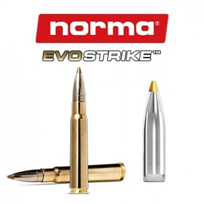 Cartuchos Norma 8x57 JS Mauser 139 grains Evostrike