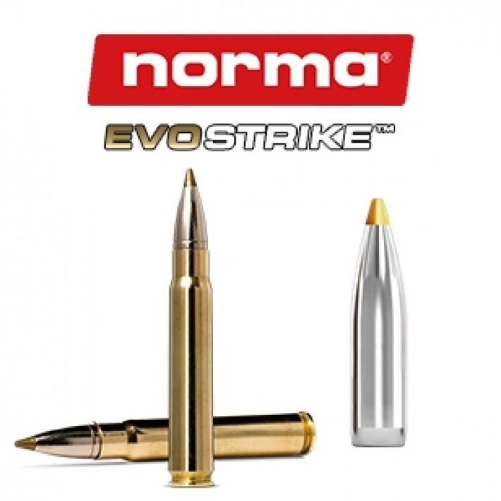 Cartuchos Norma 9.3x62 Mauser 184 grains Evostrike