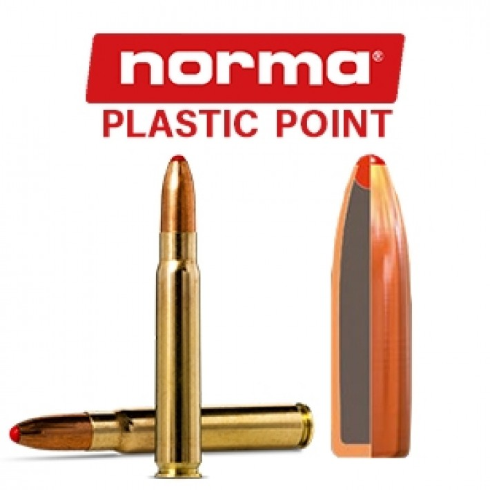 Cartuchos Norma 9.3x62 Mauser 285 grains Plastic Point