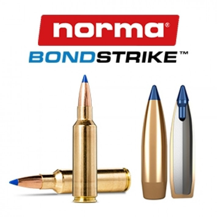 Cartuchos Norma Bondstrike Extreme .300 WSM (Winchester Short Magnum) - 180 grains