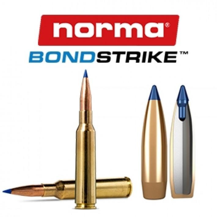 Cartuchos Norma Bondstrike Extreme 6.5x55 Sueco 143 grains