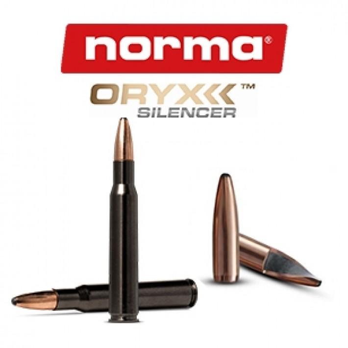 Cartuchos Norma Oryx Silencer .30-06 Springfield 180 grains Oryx