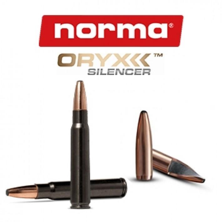 Cartuchos Norma Oryx Silencer 8x57 JS Mauser 196 grains Oryx
