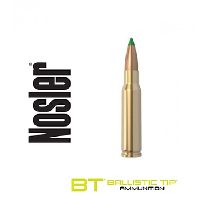 Cartuchos Nosler Ballistic Tip .308 Winchester 165 grains Ballistic Tip