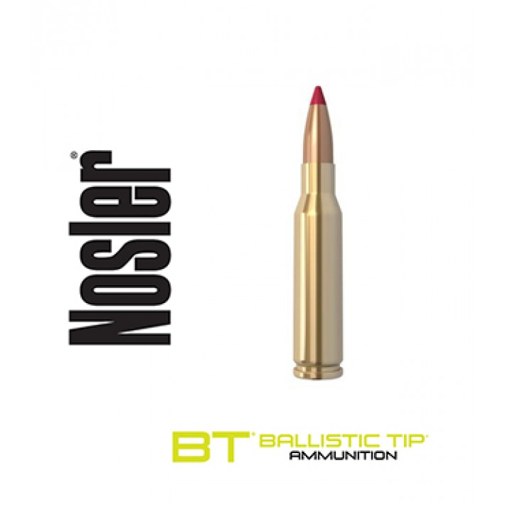 Cartuchos Nosler Ballistic Tip 7mm-08 Remington 120 grains Ballistic Tip