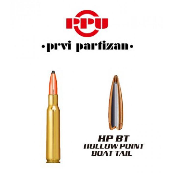 Cartuchos Prvi Partizan .30-06 Springfield 168 grains HPBT