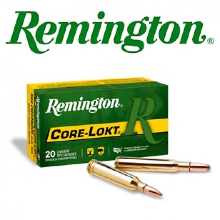 Cartuchos Remington .270 WSM (Winchester Short Magnum) 130 grains Core Lokt