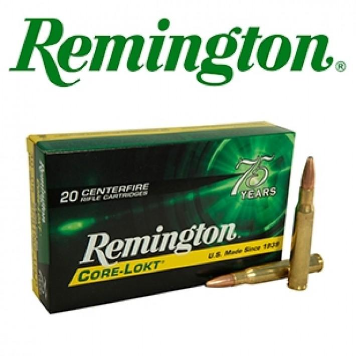 Cartuchos Remington .30-06 Springfield 165 grains Core Lokt