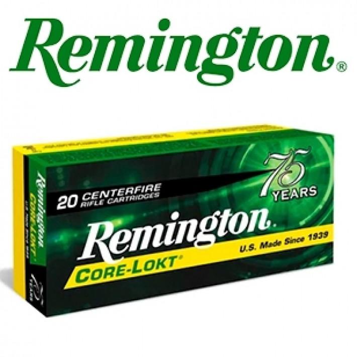 Cartuchos Remington .30-06 Springfield 180 grains Core Lokt RN