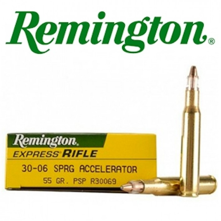 Cartuchos Remington .30-06 Springfield 55 grains Accelerator