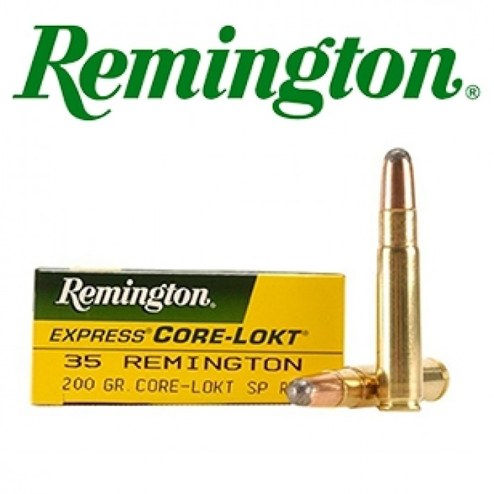 Cartuchos Remington .35 Remington 200 grains Core Lokt