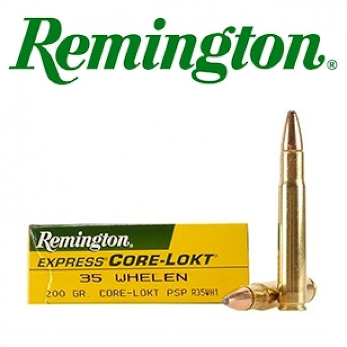 Cartuchos Remington .35 Whelen 200 grains Core Lokt