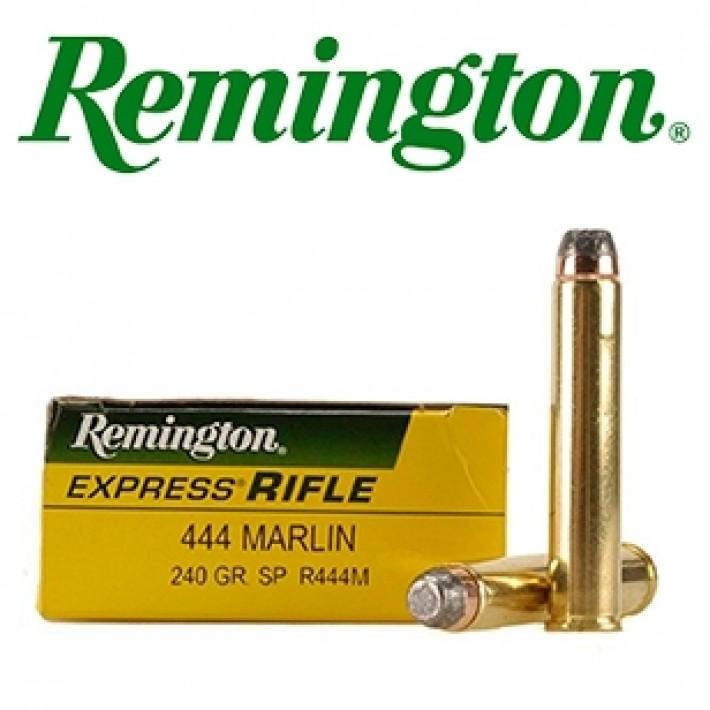 Cartuchos Remington .444 Marlin 240 grains Core Lokt