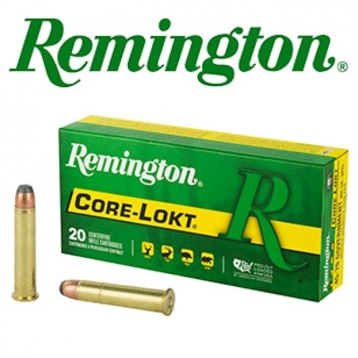 Cartuchos Remington .45-70 Government Presión Reducida 405 grains Core Lokt
