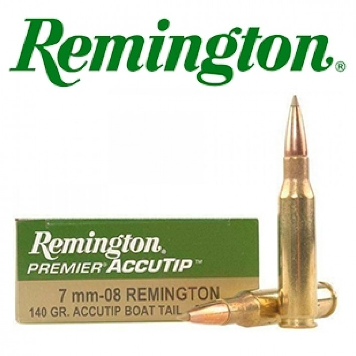 Cartuchos Remington 7mm-08 Remington 140 grains AccuTip