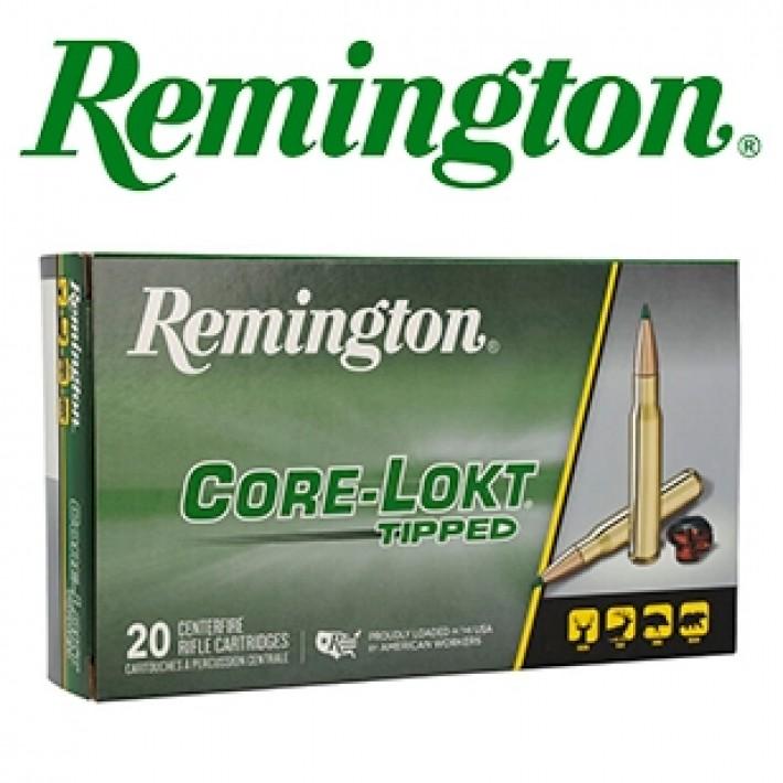 Cartuchos Remington Core Lokt Tipped .308 Winchester 180 grains