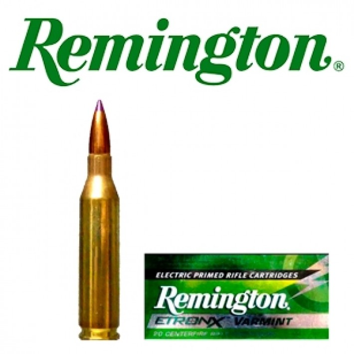 Cartuchos Remington Etronx .243 Winchester 90 grains Ballistic Tip