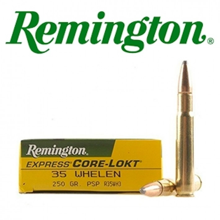 Cartuchos Remington High Performance Rifle .35 Whelen 250 grains SP