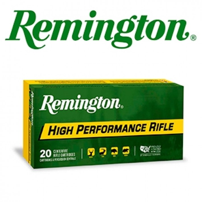 Cartuchos Remington High Performance Rifle 6.5 Creedmoor 140 grains HPBT