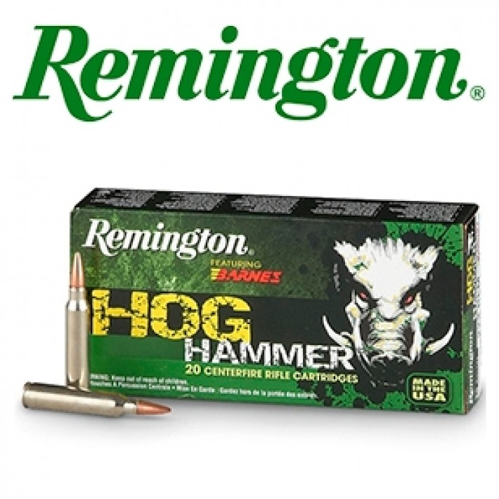 Cartuchos Remington Hog Hammer .300 Blackout 130 grains TSX FB