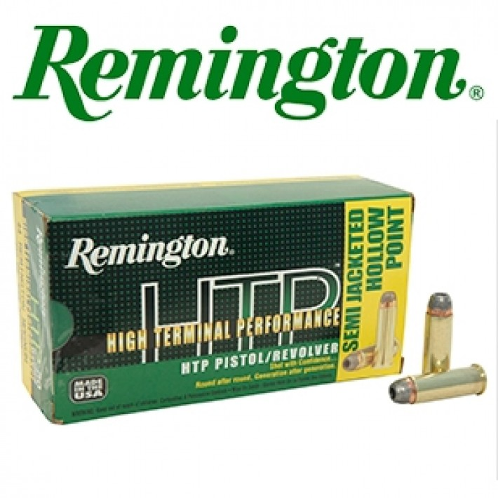 Cartuchos Remington HTP .44 Remington Magnum 240 grains SJHP