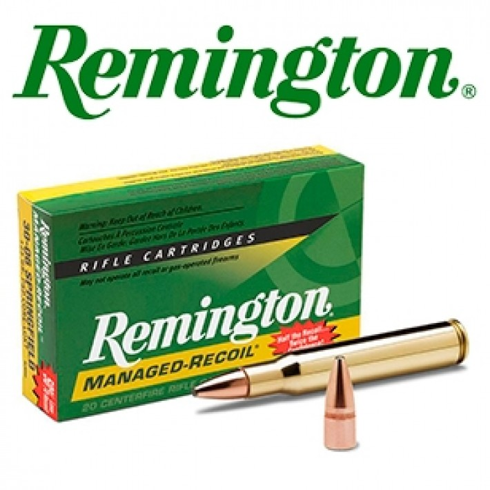 Cartuchos Remington Managed Recoil .30-06 Springfield 125 grains Core Lokt