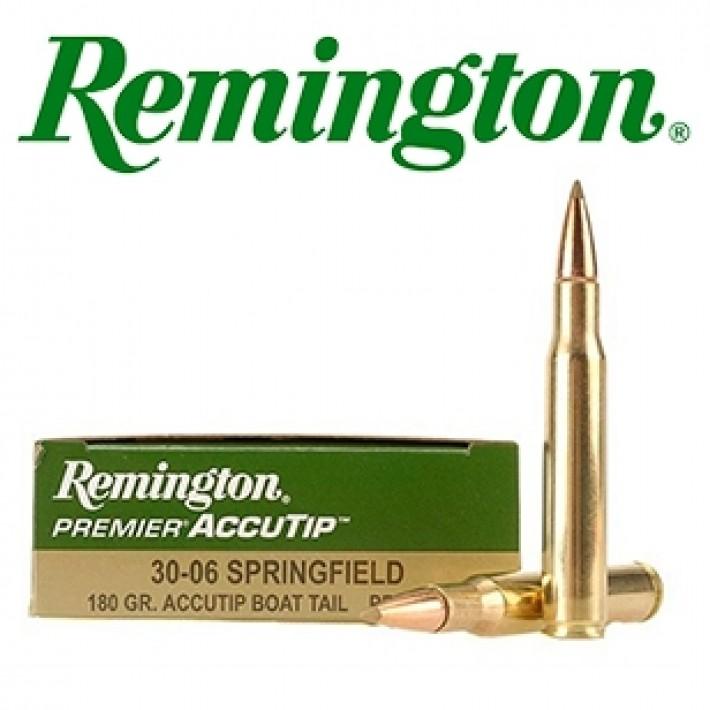 Cartuchos Remington Premier .30-06 Springfield 180 grains AccuTip