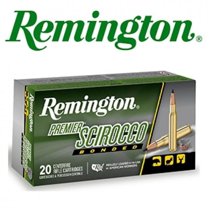 Cartuchos Remington Premier .30-06 Springfield 180 grains Swift Scirocco Bonded