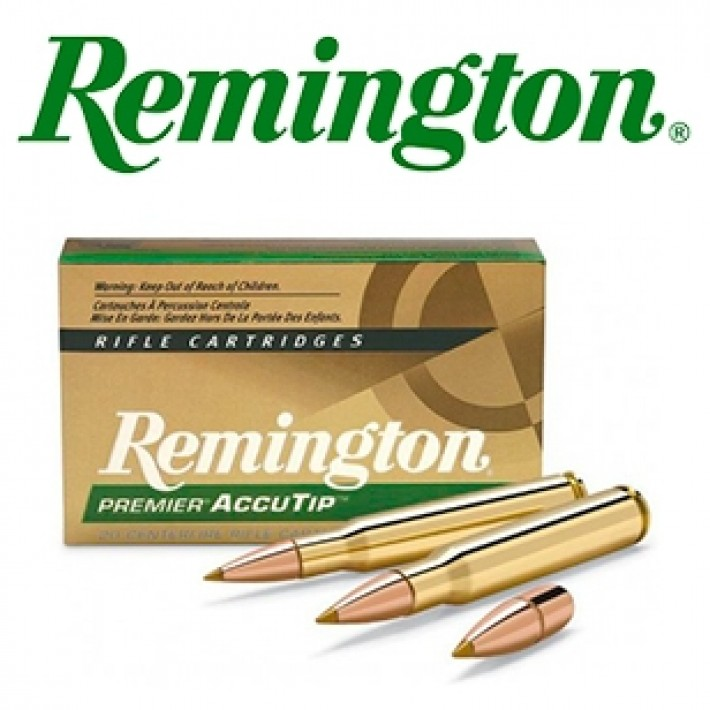 Cartuchos Remington Premier .300 Winchester Magnum 180 grains AccuTip