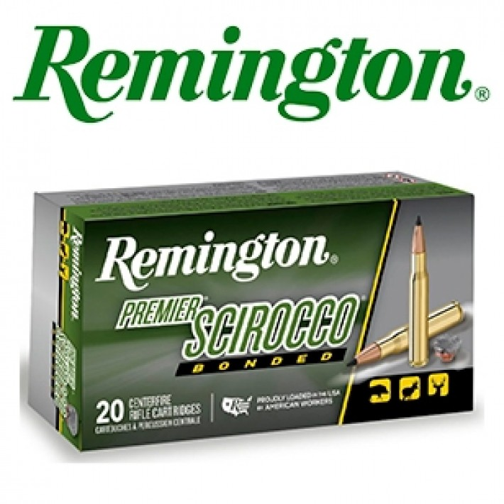 Cartuchos Remington Premier .300 Winchester Magnum 180 grains Swift Scirocco Bonded
