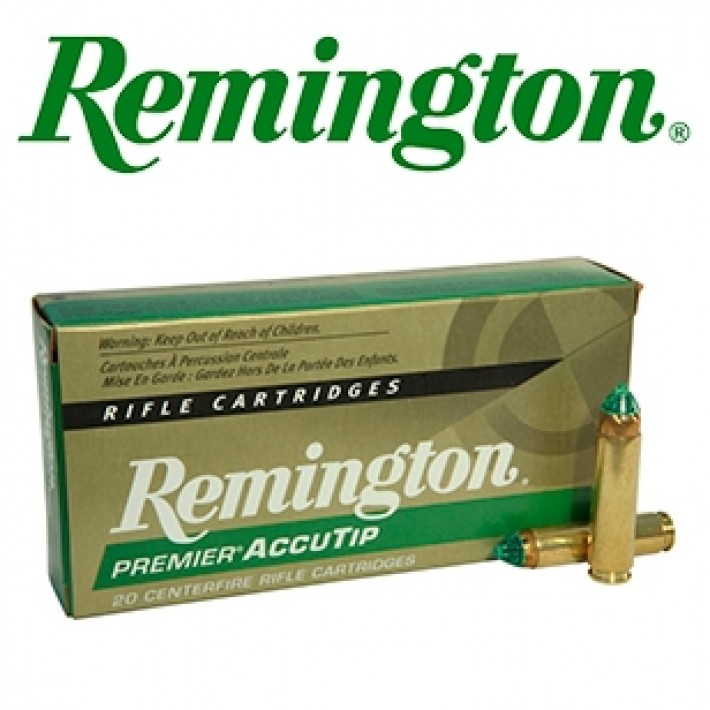 Cartuchos Remington Premier .450 Bushmaster 260 grains AccuTip
