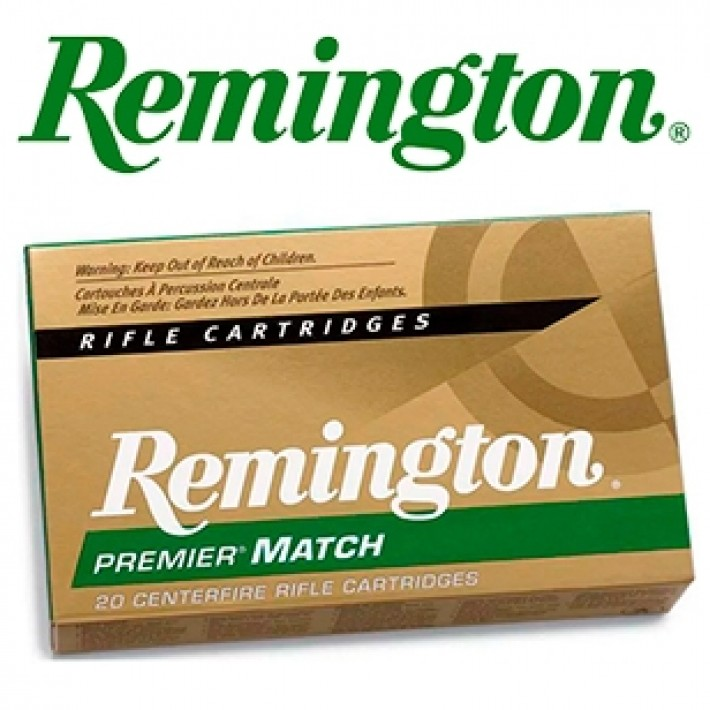 Cartuchos Remington Premier Match .223 Remington 62 grains HP