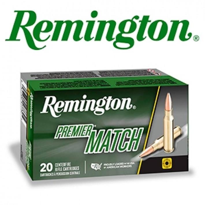 Cartuchos Remington Premier Match .223 Remington 69 grains HPBT