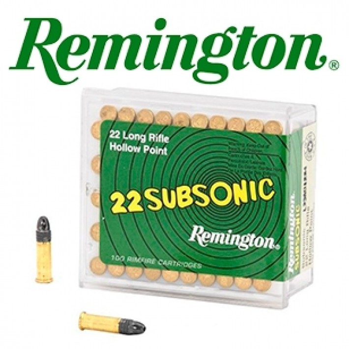 Cartuchos Remington Golden Bullet .22 LR 38 grains RN HP - 50 unidades (ammo)