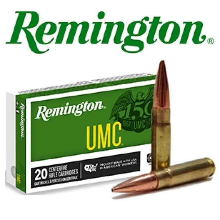 Cartuchos Remington UMC .300 Blackout 220 grains HP
