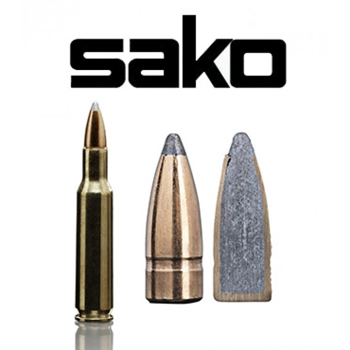 Cartuchos Sako .222 Remington 50 grains Gamehead (ammo)