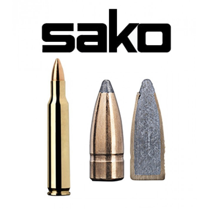 Cartuchos Sako .222 Remington Magnum 50 grains Gamehead