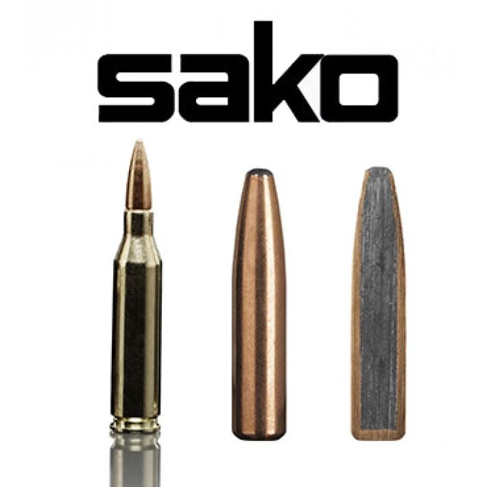 Cartuchos Sako .243 Winchester 100 grains Deerhead (ammo)