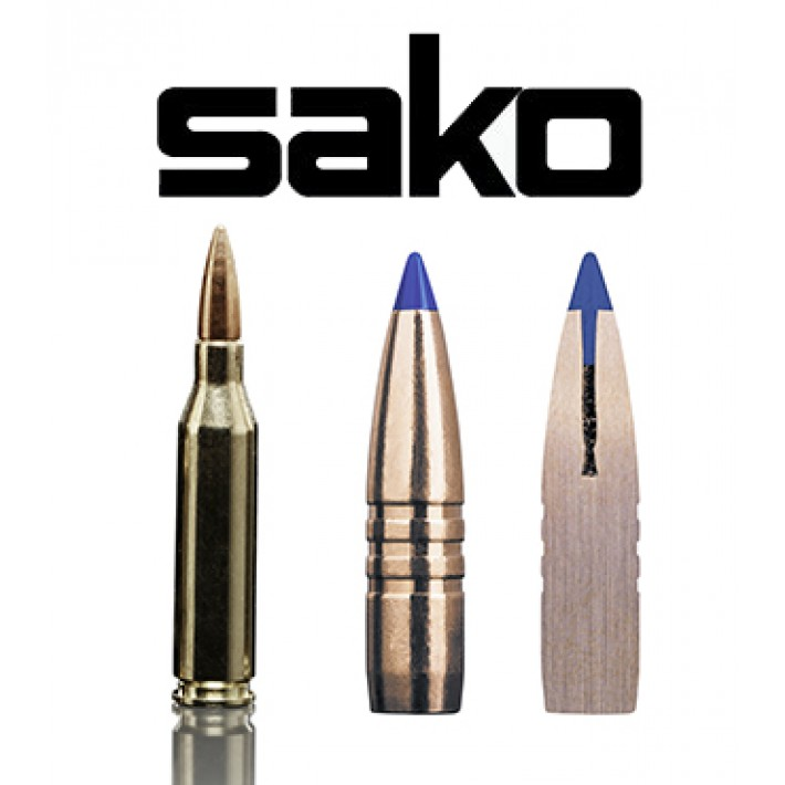 Cartuchos Sako .243 Winchester 80 grains Powerhead II (ammo)