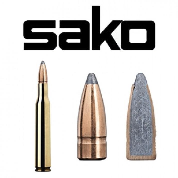 Cartuchos Sako .270 Winchester 130 grains Gamehead