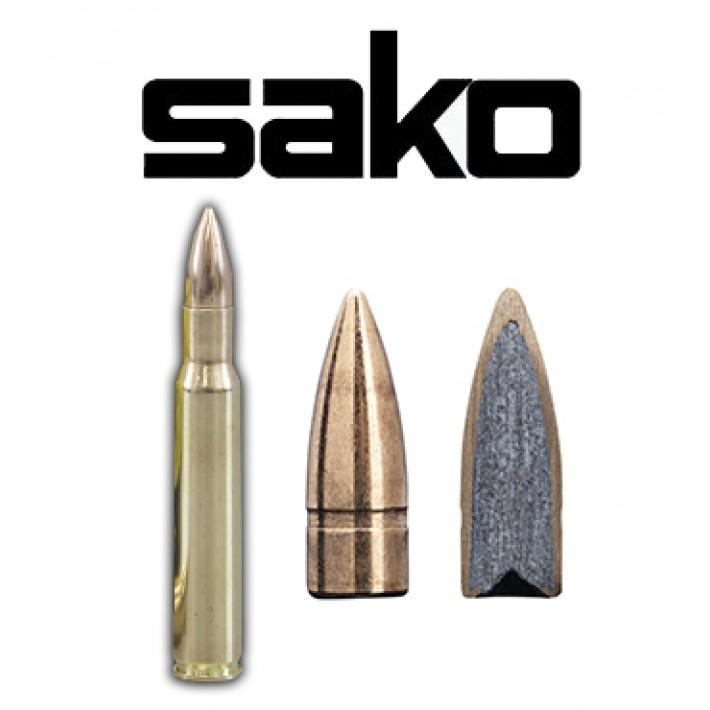 Cartuchos Sako .30-06 Springfield 123 grains Range Speedhead (ammo)