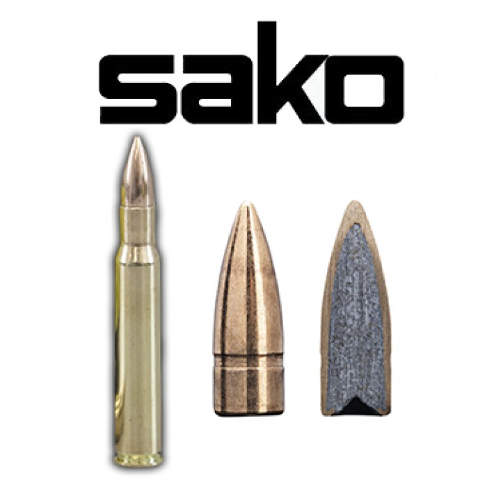 Cartuchos Sako .30-06 Springfield 123 grains Speedhead (ammo)