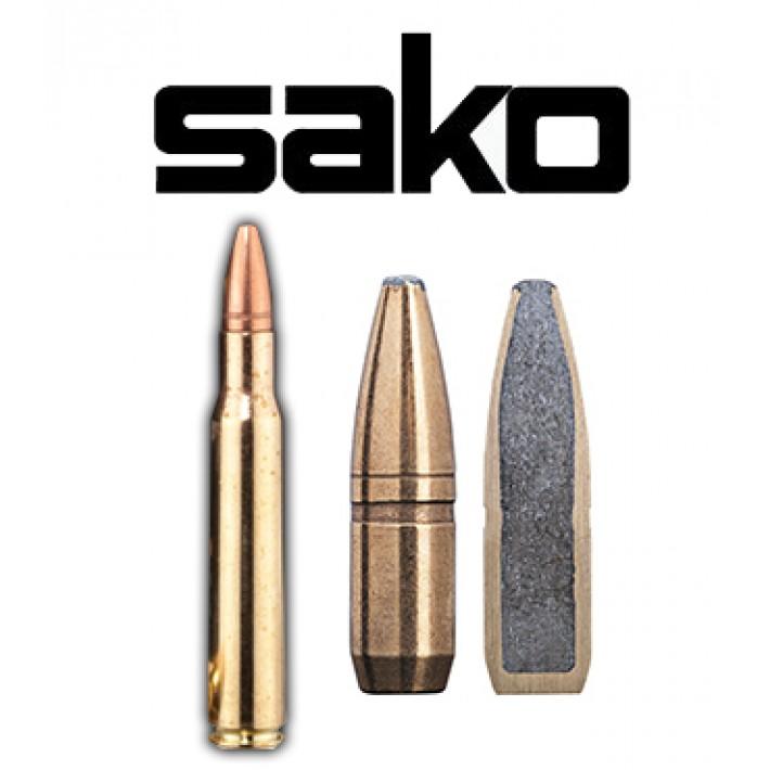 Cartuchos Sako .30-06 Springfield 150 grains Super Hammerhead (ammo)