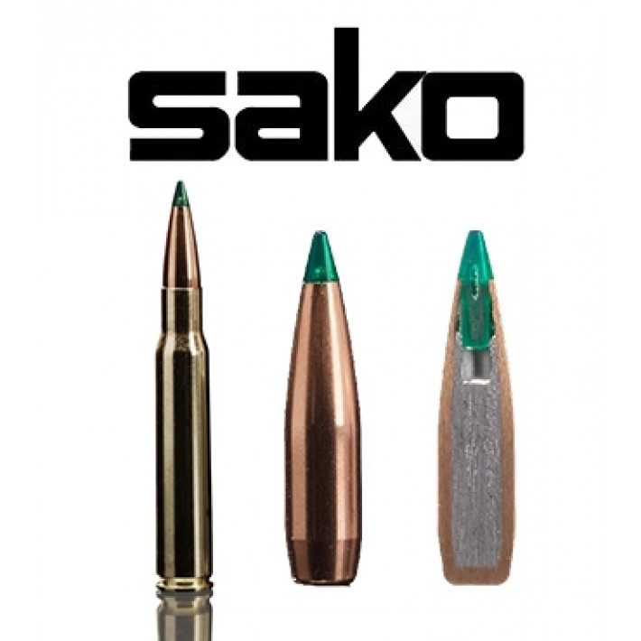 Cartuchos Sako .30-06 Springfield 165 grains Gamehead Pro