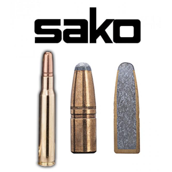Cartuchos Sako .30-06 Springfield 180 grains Hammerhead (ammo)