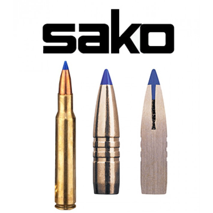 Cartuchos Sako .30-06 Springfield 180 grains Powerhead II (ammo)