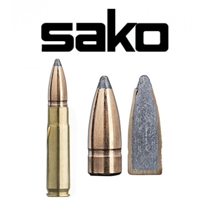 Cartuchos Sako .300 Blackout 123 grains Gamehead