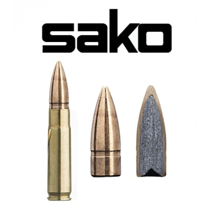 Cartuchos Sako .300 Blackout 123 grains Speedhead