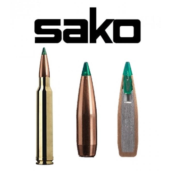 Cartuchos Sako .300 Winchester Magnum 165 grains Gamehead Pro - 10 unidades